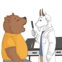 Keke Bear Visits the Doctor
