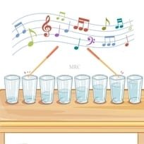 Using Cups Of Water To Play Music